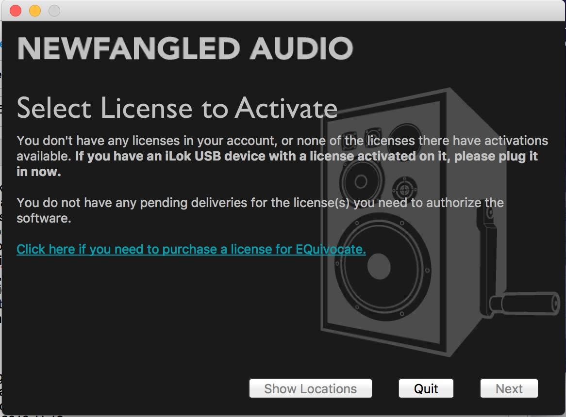 License transfer | Eventide