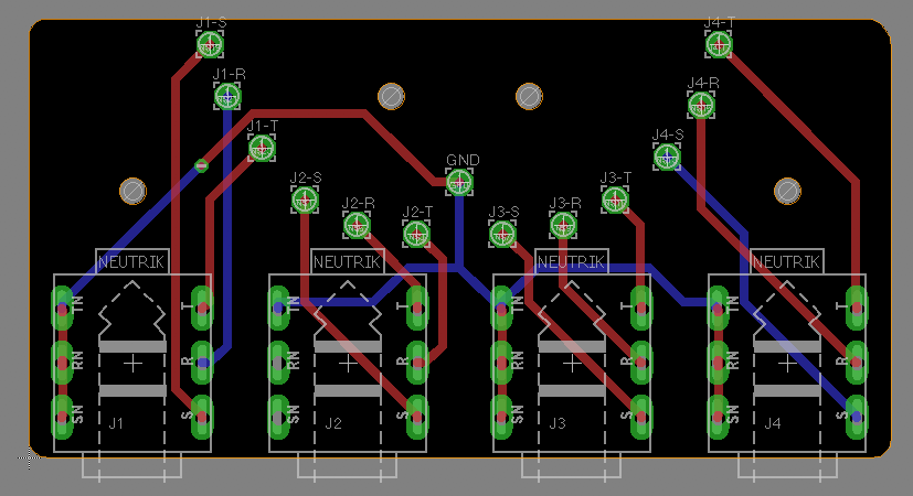 Wiring Of The Db25 Analog Audio Connectors
